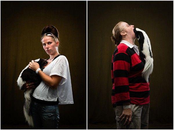 De-Stunk Skunk Portraits