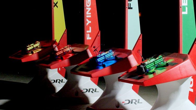 Televised Drone Races