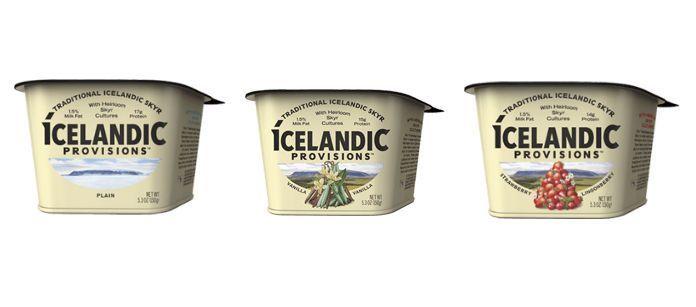Protein-Rich Icelandic Yogurts