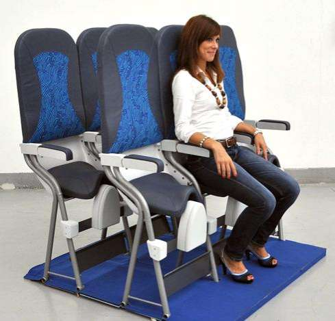 SkyRider airplane seat