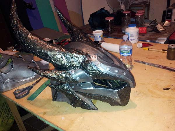 Futuristic DIY Fantasy Armor