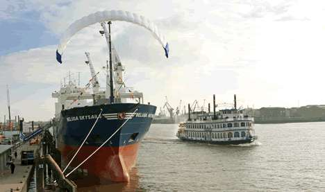 Kite Ship's First Trans Atlantic Voyage