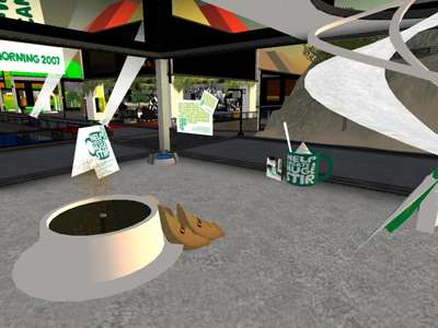 Second Life Charity Event