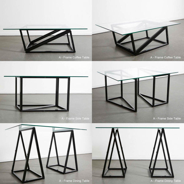 Sleek Convertible Tables