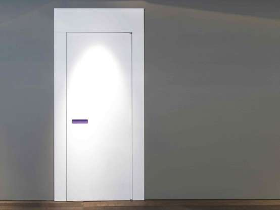 Sleek Knobless Doors