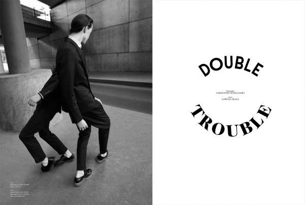 Sleek Magazine 'Double Trouble'