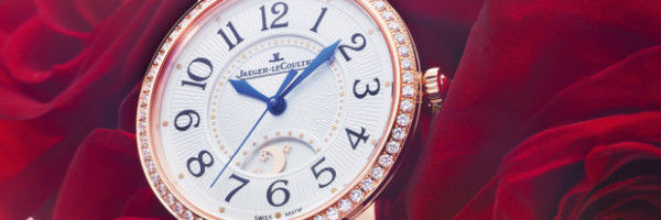 Sleek Romanticized Diamond Timepieces