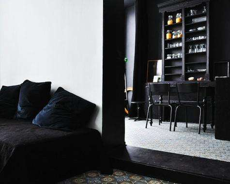 Contrasting Interior Design