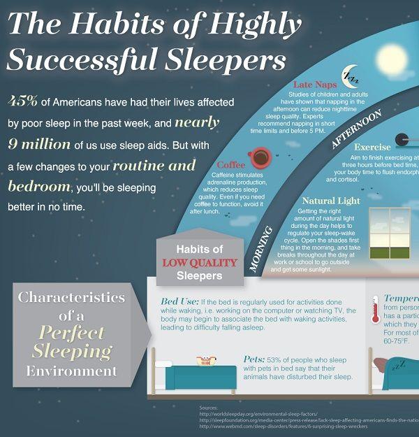 Successful Sleeping Charts
