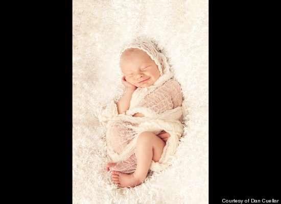 Saint-Like Baby Captures