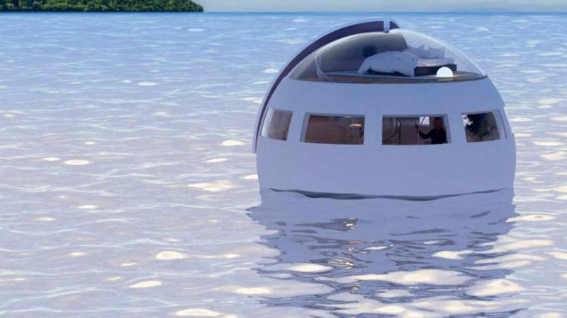Floating Hotel Sleeping Capsules