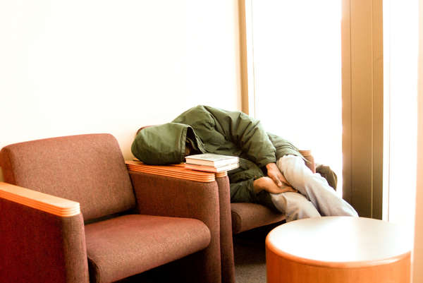 Sleeping in Libraries
