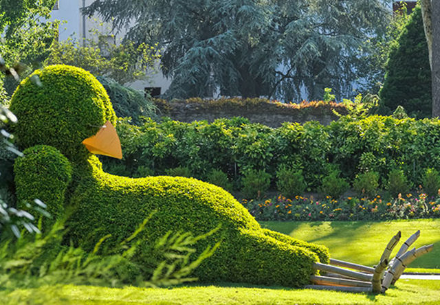 Sleeping Avian Topiaries Sleepy Chick