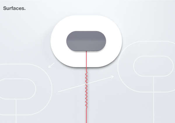 slim wall light