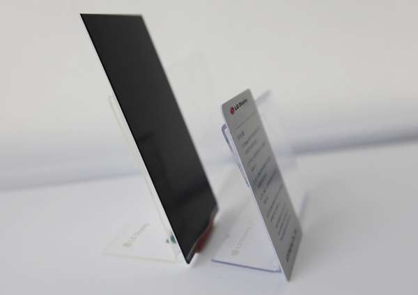 slimmest full-HD smartphone screen