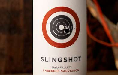 Slingshot Wine packaging