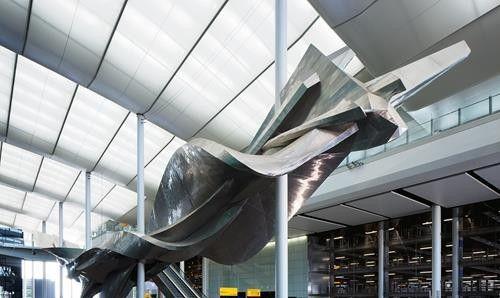 Stunt Plane Sculptures