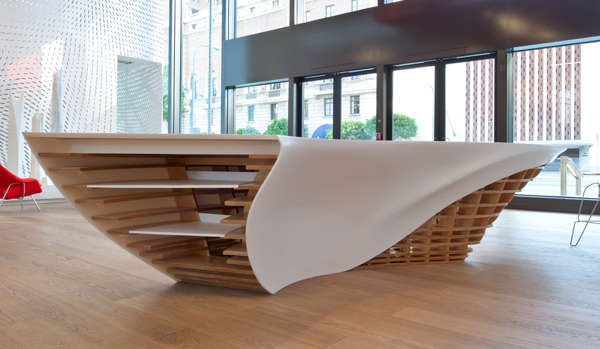 Sweeping Sculptural Furniture