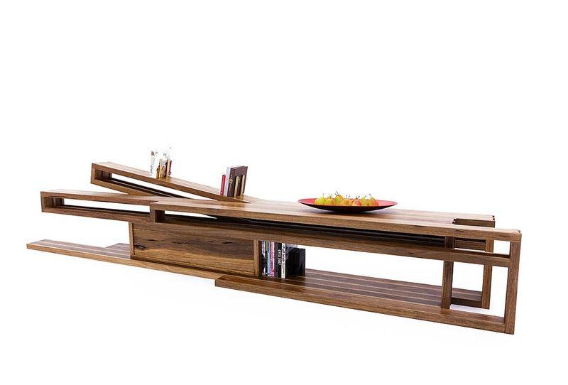 Sloped Open Sideboards