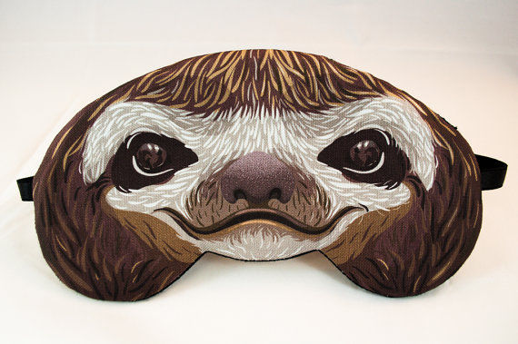 Sloth Sleep Masks