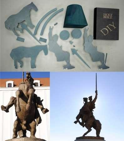 Monument-Mocking Art Installations