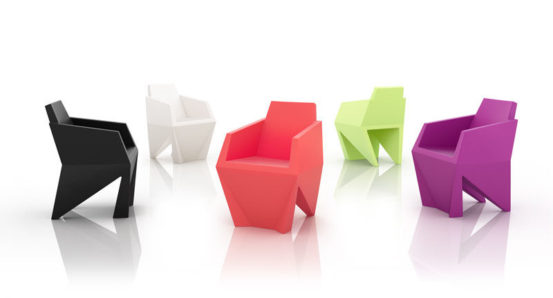 Versatile Furniture versatile compact armchairs : small and functional furniture