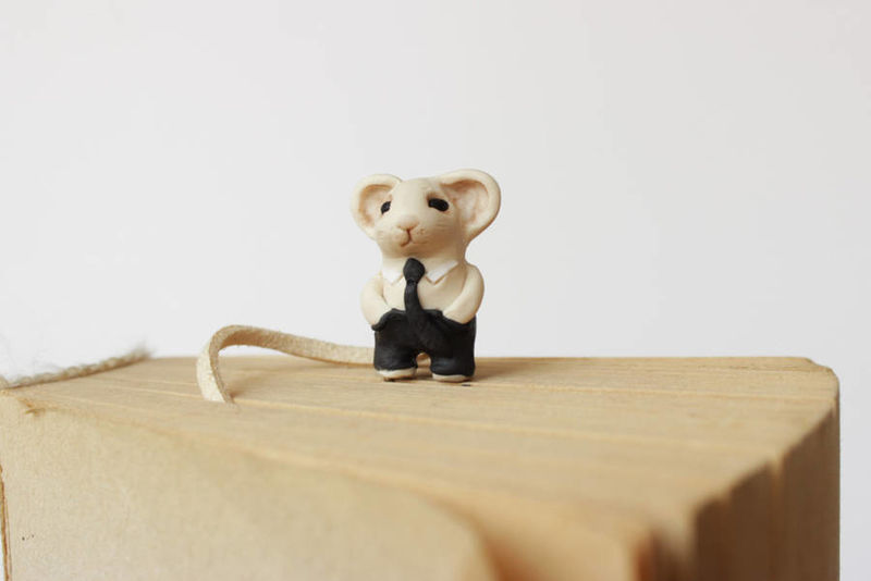 Miniature Animal Bookmarks
