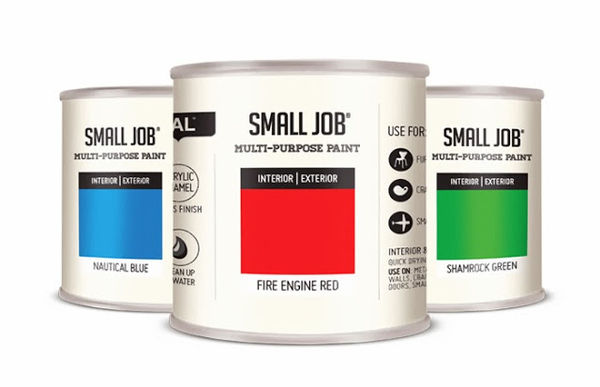 Small Job Paint packaging