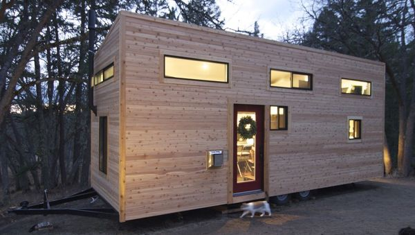 portable compact homes : smaller spaces