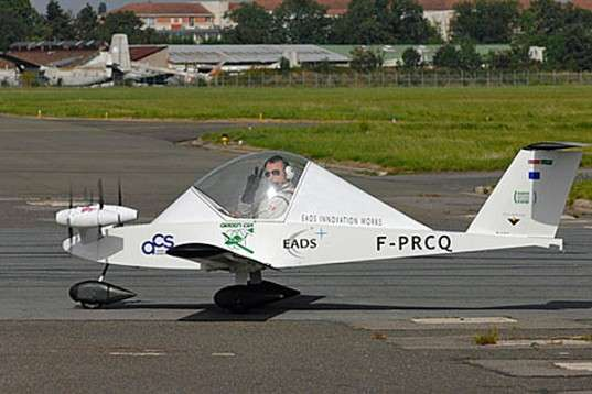 Micro-Sized Electric Planes
