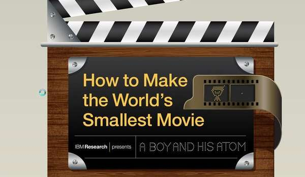 Minuscule Movie-Making Infographics