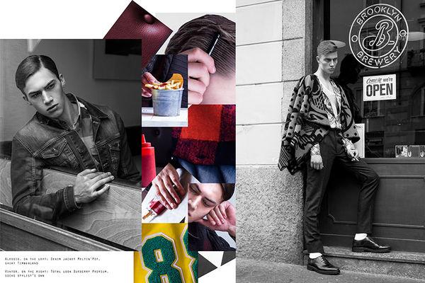 Collaged Urbanite Editorials