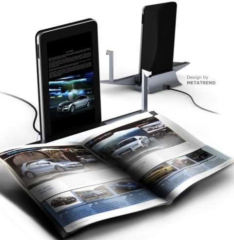 Digital Magazine Docks
