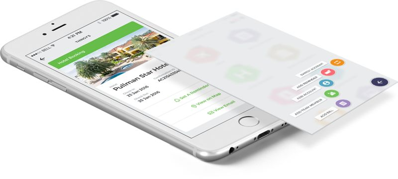 Email-Scouring Travel Apps