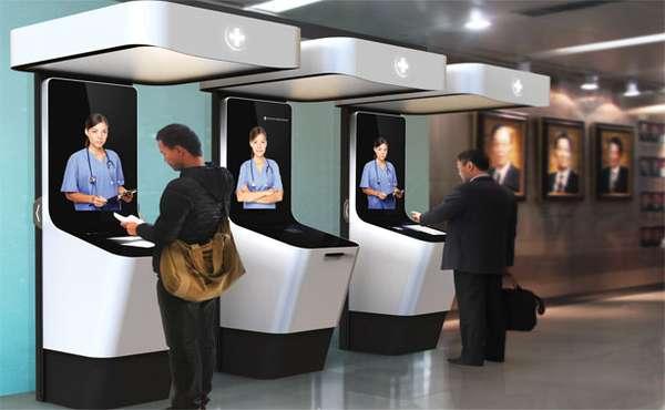 Virtual Triage Kiosks