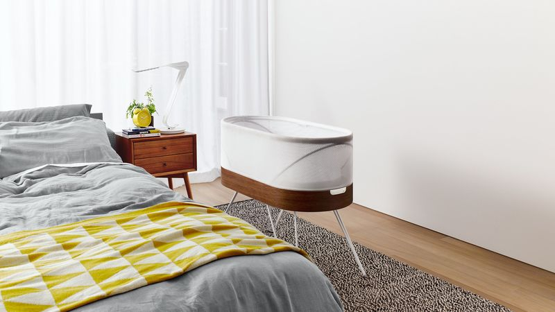 Self-Rocking Smart Cribs