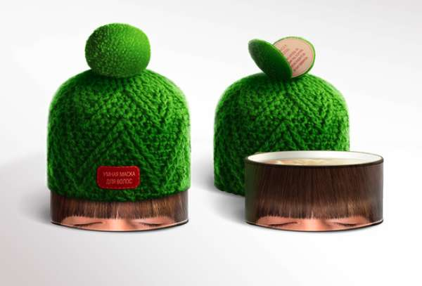 Crocheted Cap Branding
