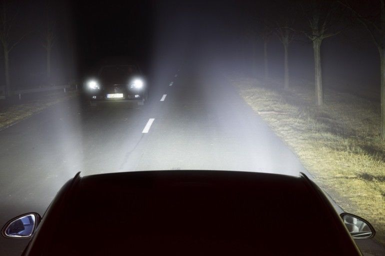 Eye-Tracking Car Headlights