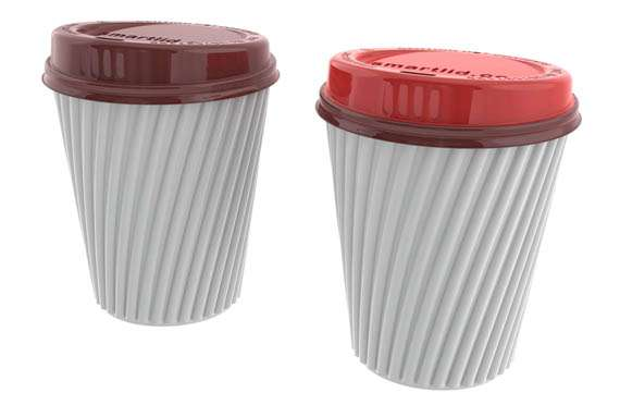 Color-Changing Coffee Lids
