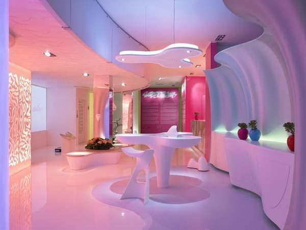 Sci-Fi Cotton Candy Interiors (UPDATE)