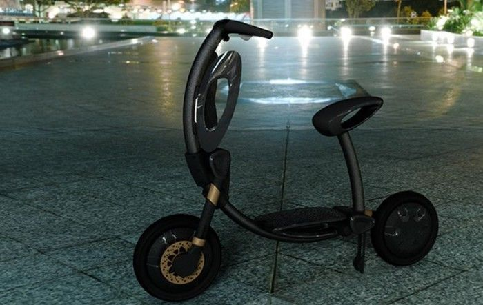 Collapsible Smart Scooters