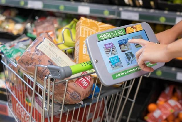 Shopping Survey Tablets