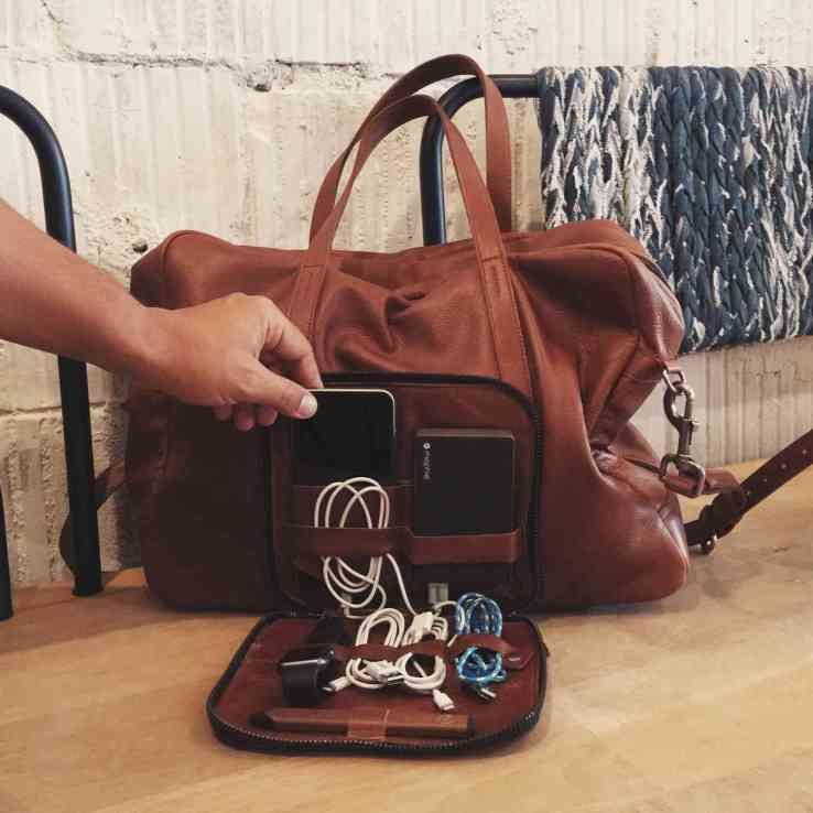 WiFi-Enabled Leather Bags