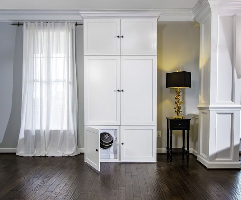 Clothes-Steaming Wardrobes