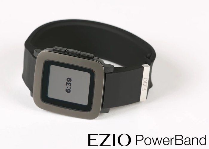 Charging Smartwatch Straps
