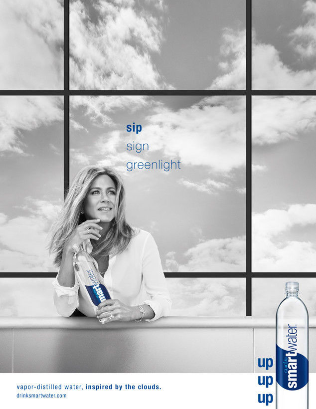 Elegant Water Print Ads