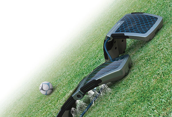 Solar-Powered Watering Robots