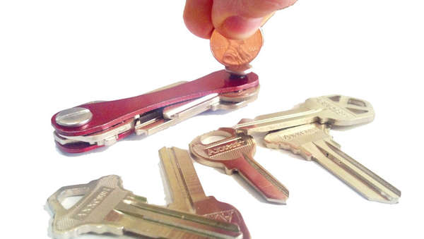Minimalist Jackknife Key Rings