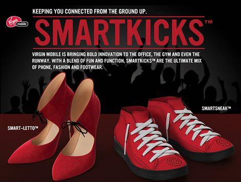Tech-Connected Shoes