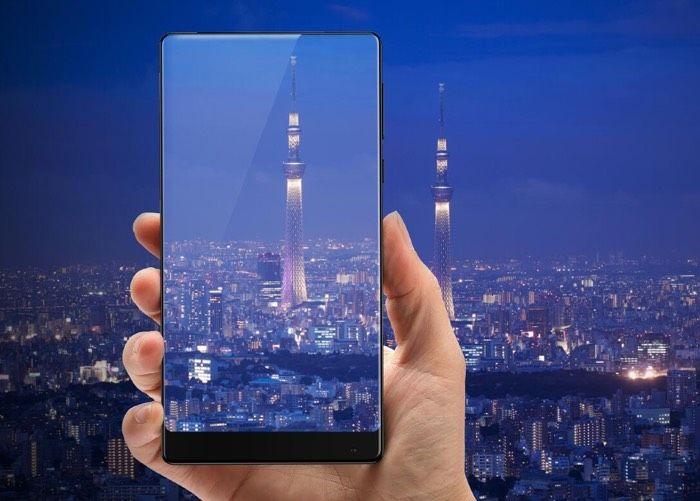 Edgeless Smartphone Devices